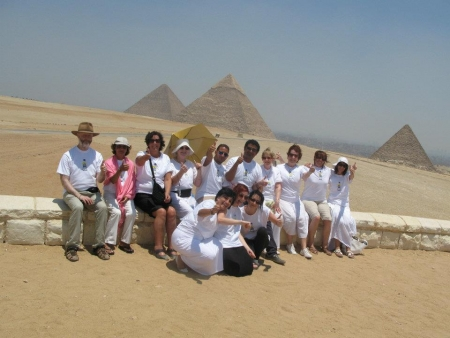 Ladan Group at the Pyramids