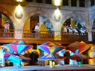 Espectáculo oriental en Hurgada