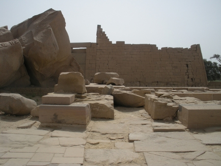 The Ramesseum Remains