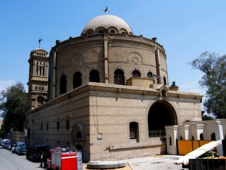La Iglesia de St. George, El Cairo Viejo