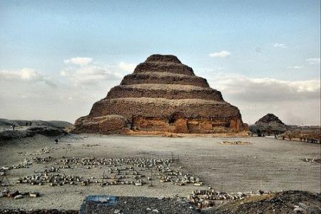 Pirâmide de degraus de Zoser