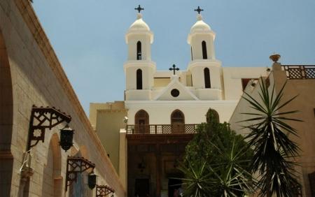 La Chiesa Sospesa, Cairo Copto