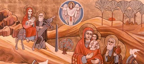 The Holy Family, Egypt
