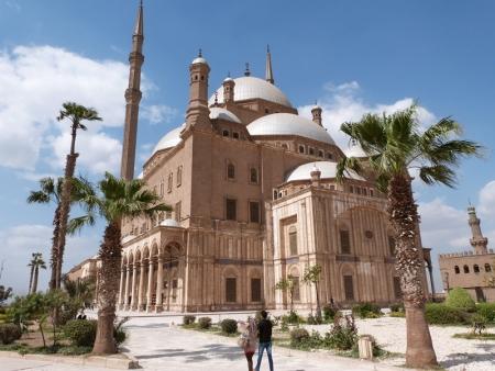 La Mezquita Albastro de Mohamed Ali, Egipto.