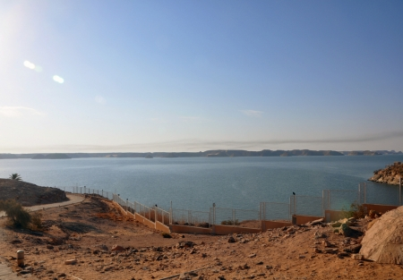 The Sunrise in Lake Nasser
