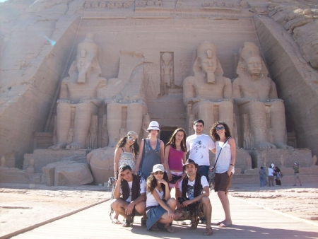 Abu Simbel Temples in Upper Egypt