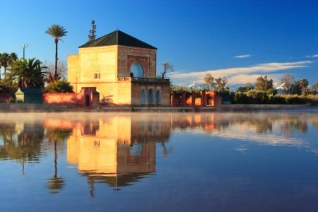 El Jardín Menara.