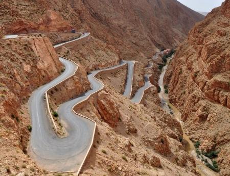 Las Montañas de Atlas, Marruecos.