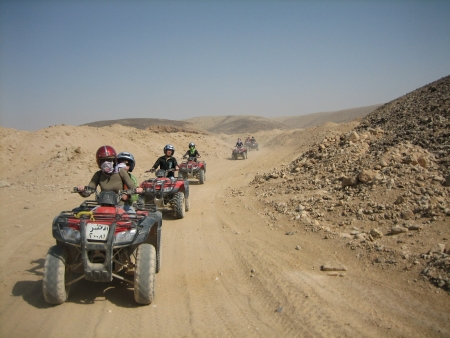 Sunrise Quad Bike Safari Tour