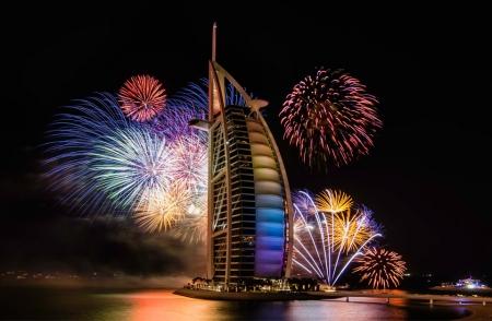 Dubai New Year Fireworks 2017