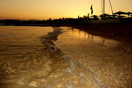 Sunset at Naama Bay