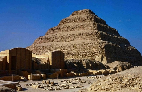 Sakkara Pyramid.