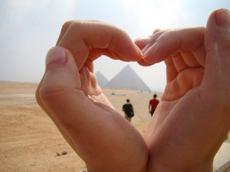 Die Pyramiden von Gizah