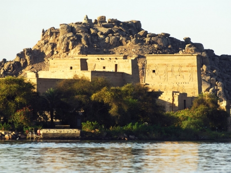 Nile view of Philae Temple