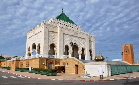 The Mohammed V Mausoleum
