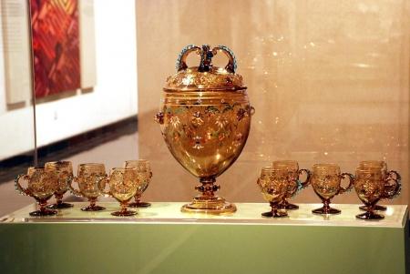 Esposizioni all'interno del Museo della Civiltà Islamica