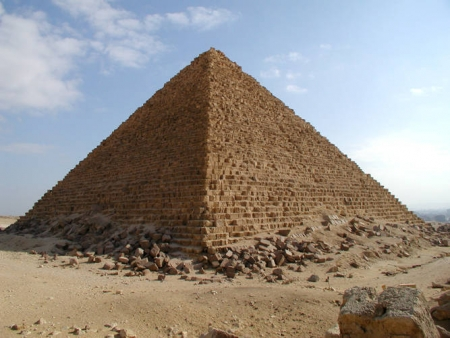 Pyramid of Menkaure (Mykerinus)