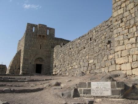 アルアズラック城、ヨルダン砂漠