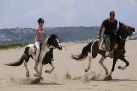 Paseo en caballos, Éfeso
