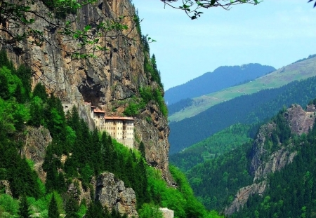 Sümela Monastery in Turkey