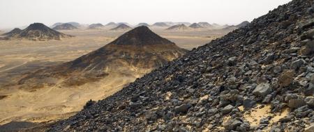Las Montañas Negras, Desierto Negro
