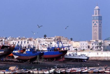 Porto di Casablanca, Marocco