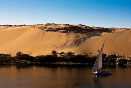 Rio Nilo - Aswan - Egito