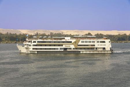 Nile Cruise Sailing, Egypt