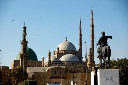 Mohamed Ali Mosque and Ibrahim Pasha Statue