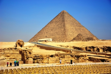 The great Pyramid in Cairo