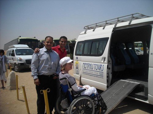 Accessible air conditioned Vehicle with your private Driver & assistance