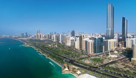 Abu Dhabi Corniche Street