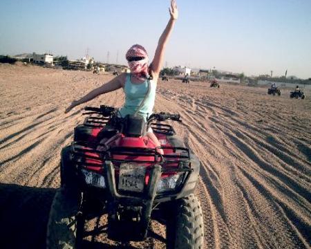 Quad Biking in The Desert Hurghada - Egypt