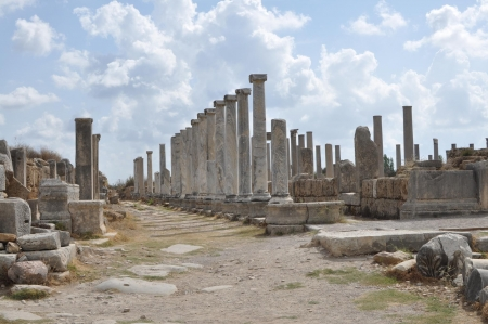 Perge of Turkey