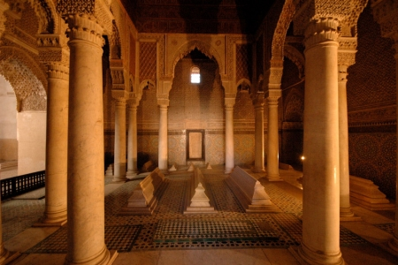 las Tumbas Saadies, Marrakech
