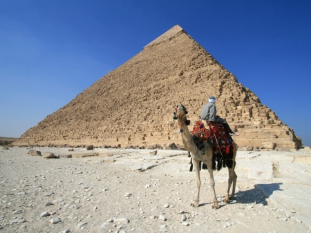 Khafre Pyramid of Chephren