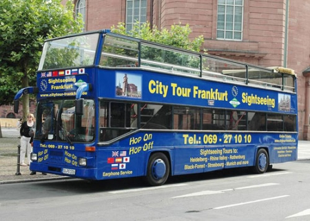 Frankfurt Sightseeing Tour by blue Bus