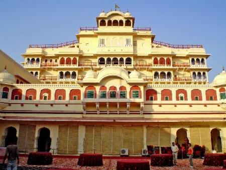 Palácio do Maharaja em jaipur