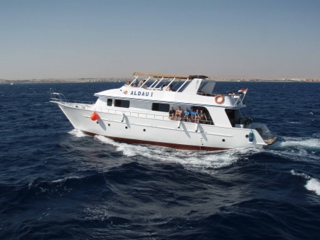 Diving boat, Hurghada