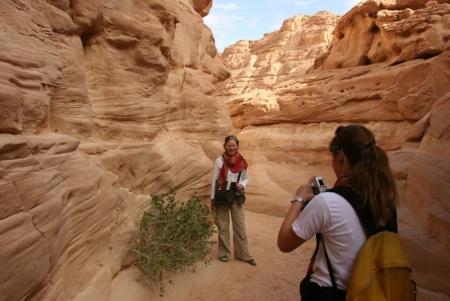 Safari-Tour zum Colored Canyon