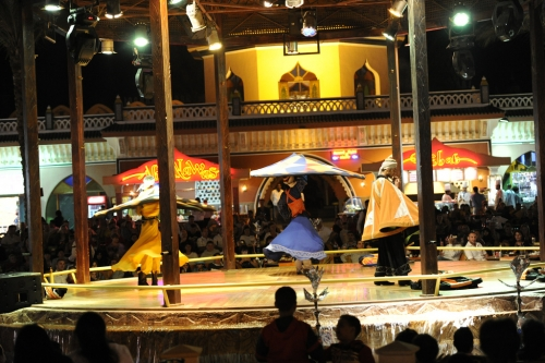 Tanoura Show at Alf Leila we Liela Show