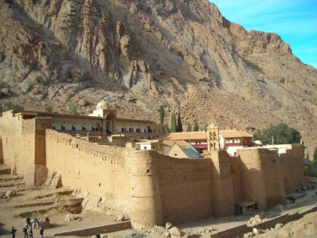St. Catherine's Monastery Enclosure Wall in Sinai