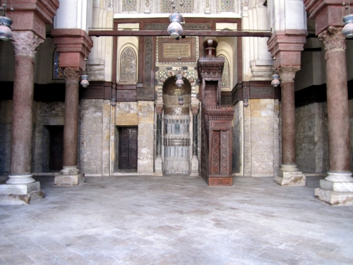 Qalawun Mosque's Mihrab and Pulpit