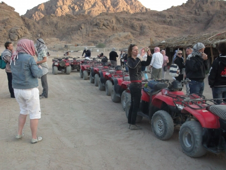 ATV quad bike Marsa Alam