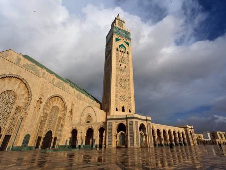 Hassan II Mosque in Casa