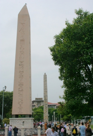 The Ancient Hippodrome in Istanbul