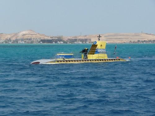 Submarine in Hurghada Red Sea