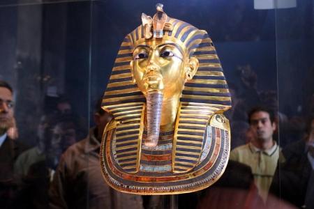 Maschera d'oro di Tutankhamon