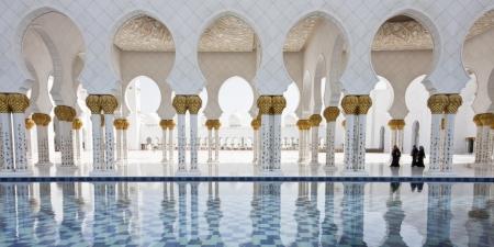 シェイク・ザイード・グランド・モスク・ホール、アブダビ