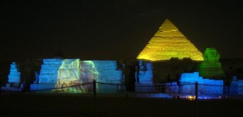 Spettacolo Suoni e Luci Presso Le Piramidi